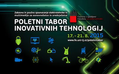 Poletni tabor inovativnih tehnologij 2015